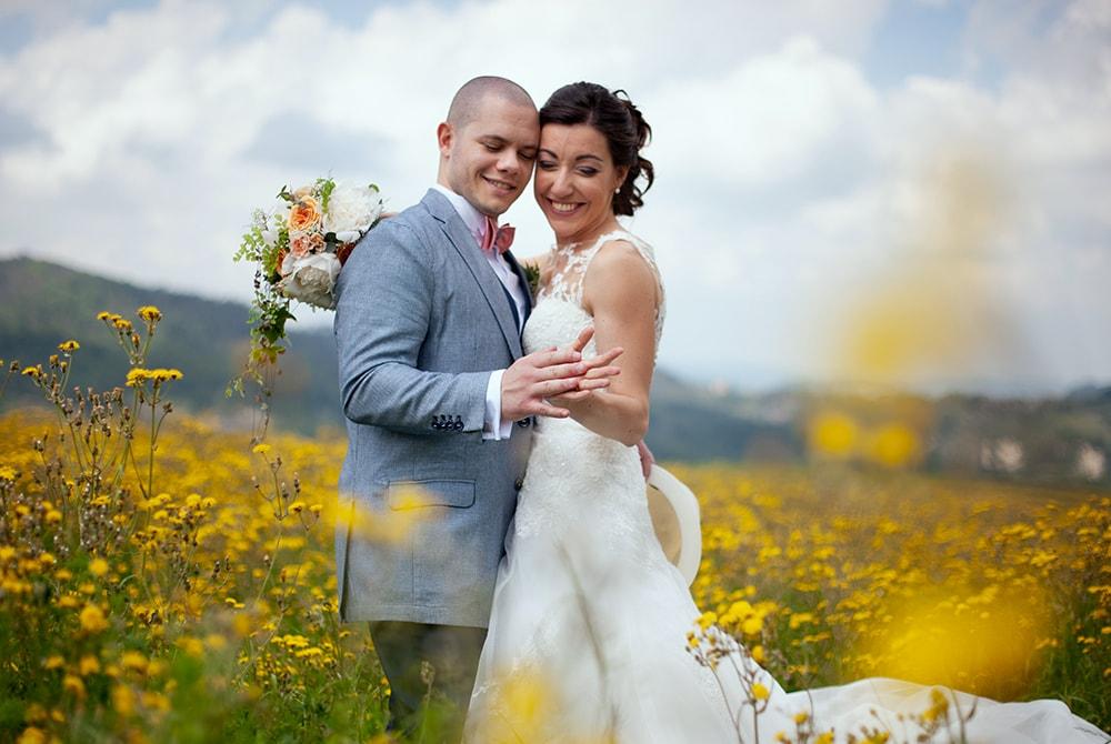 Il matrimonio primaverile di Elisa e Giacomo.