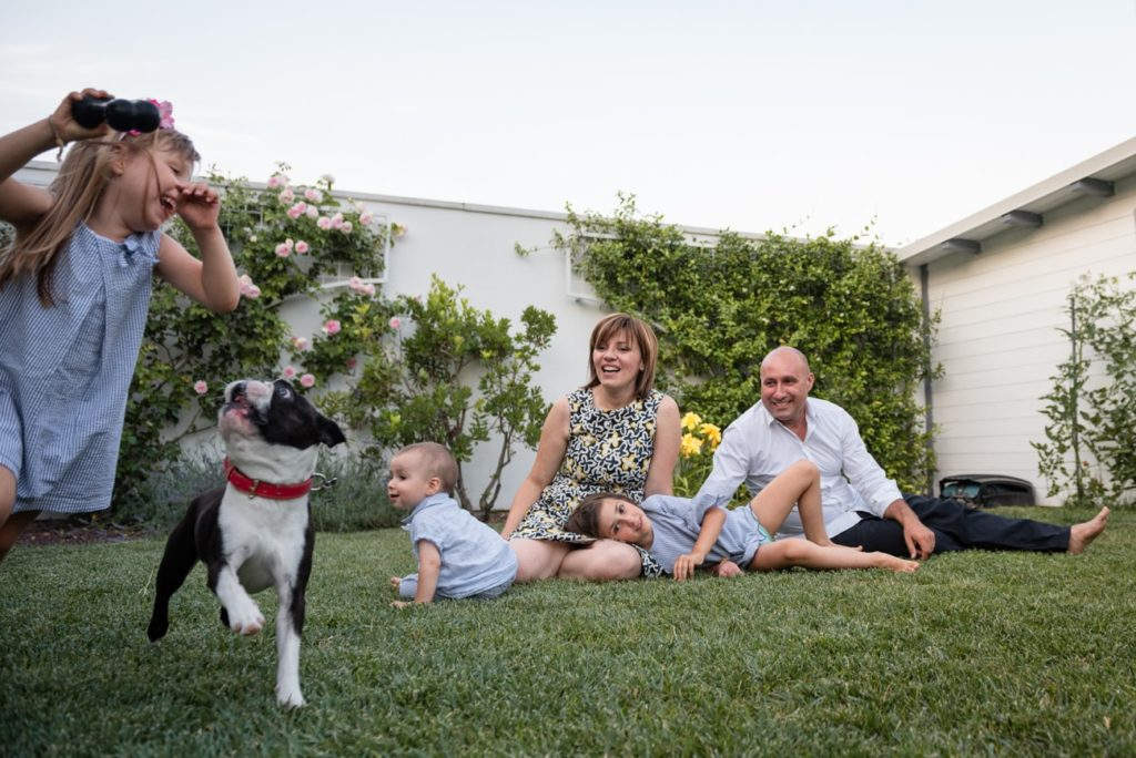 Una bella famiglia